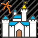 1f3f0, b, castle icon