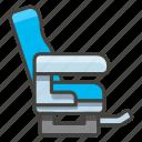 1f4ba, b, seat icon