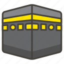 1f54b, kaaba icon