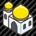 mosque, b, 1f54c icon