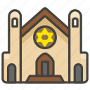 1f54d, synagogue icon