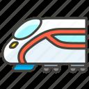 1f684, a, high, speed, train icon