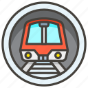 1f687, metro icon