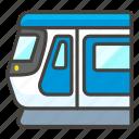 1f688, light, rail icon