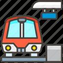 1f689, station icon