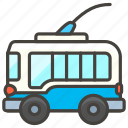 1f68e, trolleybus icon