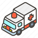 1f691, a, ambulance icon