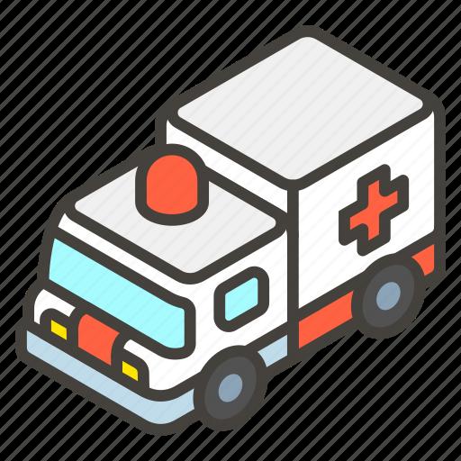 1f691, a, ambulance icon