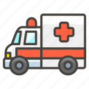 1f691, ambulance, b icon