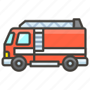 1f692, b, engine, fire icon