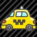 1f695, b, taxi icon