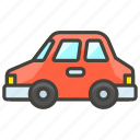 1f697, automobile, b icon