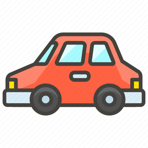 1f697, automobile, b icon