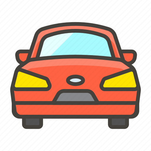 1f698, automobile, oncoming icon