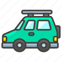 1f699, sport, utility, vehicle icon