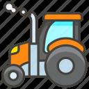 1f69c, b, tractor icon