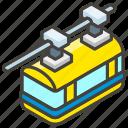 1f69f, a, railway, suspension icon