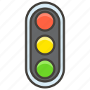 1f6a6, light, traffic, vertical icon