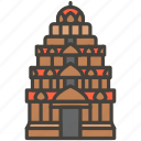 1f6d5, hindu, temple icon