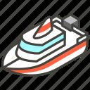 1f6e5, a, boat, motor icon