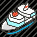 1f6f3, a, passenger, ship icon