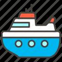 1f6f3, b, passenger, ship icon