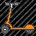 1f6f4, a, kick, scooter icon