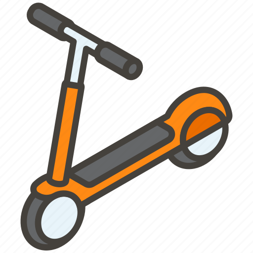 1f6f4, b, kick, scooter icon