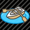 1f6f6, a, canoe icon