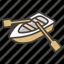 1f6f6, b, canoe icon