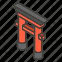 26e9, a, shinto, shrine icon