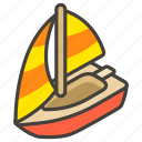 26f5, b, sailboat icon