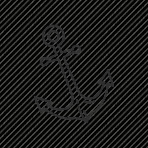 anchor, emoji, marine, ocean, port, sea, ship icon