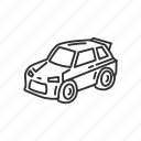 car, emoji, sports car, transportation, travel, truck, vehicle icon