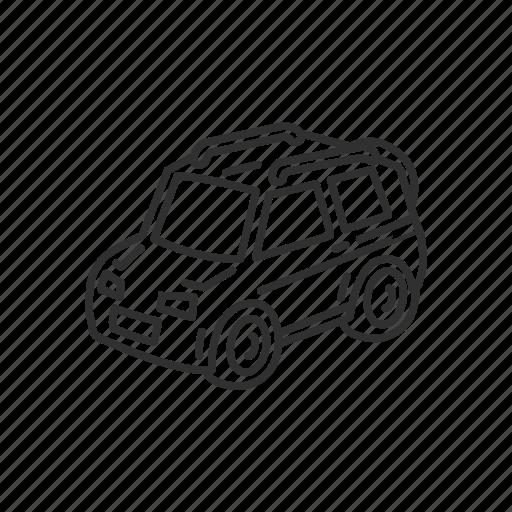 automobile, car, emoji, recreational vehicle, transportation, travel, vehicle icon