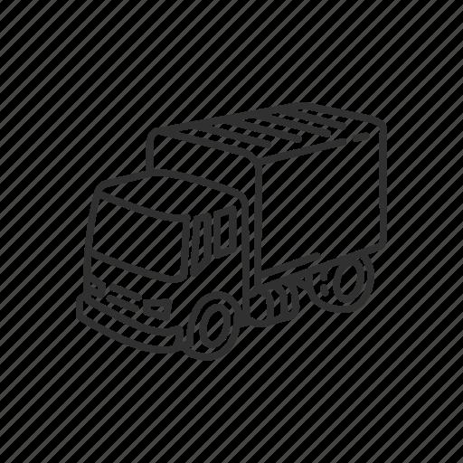 car, delivery, delivery truck, emoji, transport, transportation, truck icon