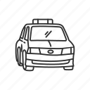 auto, cab, car, emoji, taxi, transportation, vehicle icon
