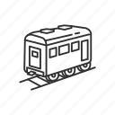 car, emoji, railway, railway car, train, transportation, travel icon