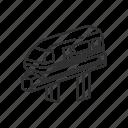 emoji, monorail, railway, train, tram, transportation, travel