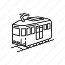 car, emoji, railway, railway car, train, tram, travel icon