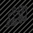 emoji, engine, steam, steam locomotive, subway, train, transport