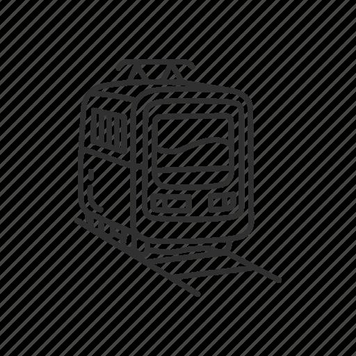 Emoji, railway, train, tram, transporation, transport, transportation icon - Download on Iconfinder