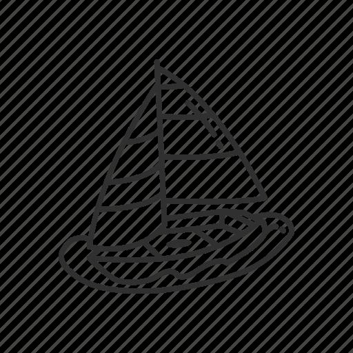 Boat, emoji, sail, sailboat, vessel, watercraft, sea icon - Download on Iconfinder