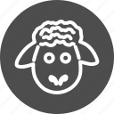agritourism, animal, animals, pet, sheep icon