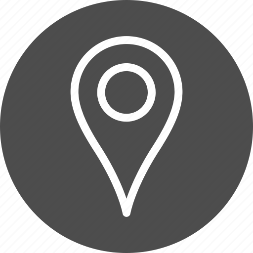 direction, location, map, marker, navigation, pin, place, pointer icon