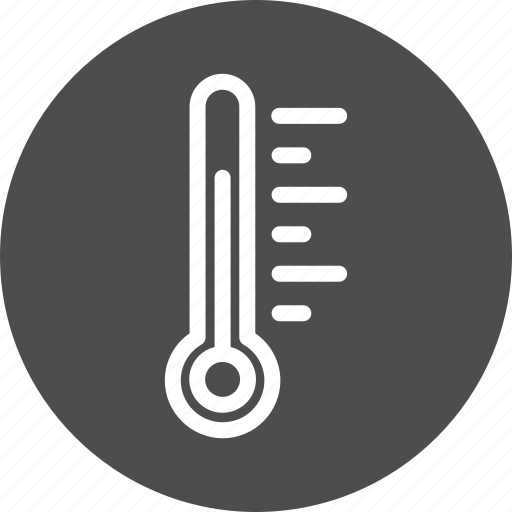 degree, forecast, hot, meter, temperature, thermometer, value, weather icon