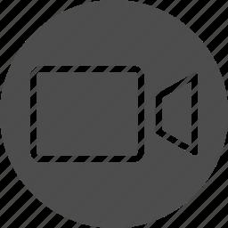camcorder, camera, movie, multimedia, recorder, video, webcam icon