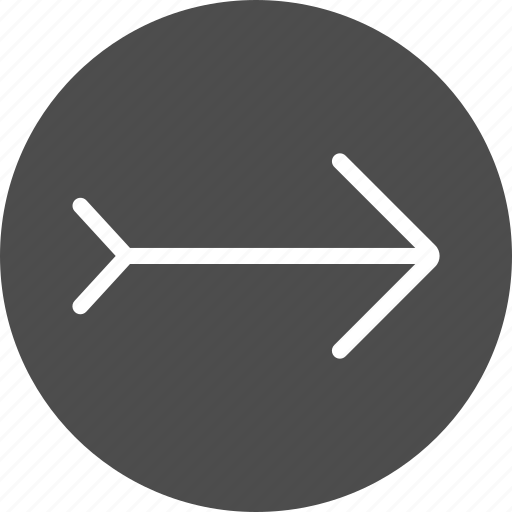 arrow, arrows, direction, move, right, wind icon