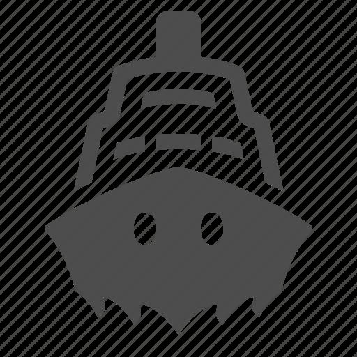 cruise ship, sailing, sea, ship, transport, transportation, travel icon
