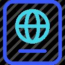 25px, iconspace, passport icon